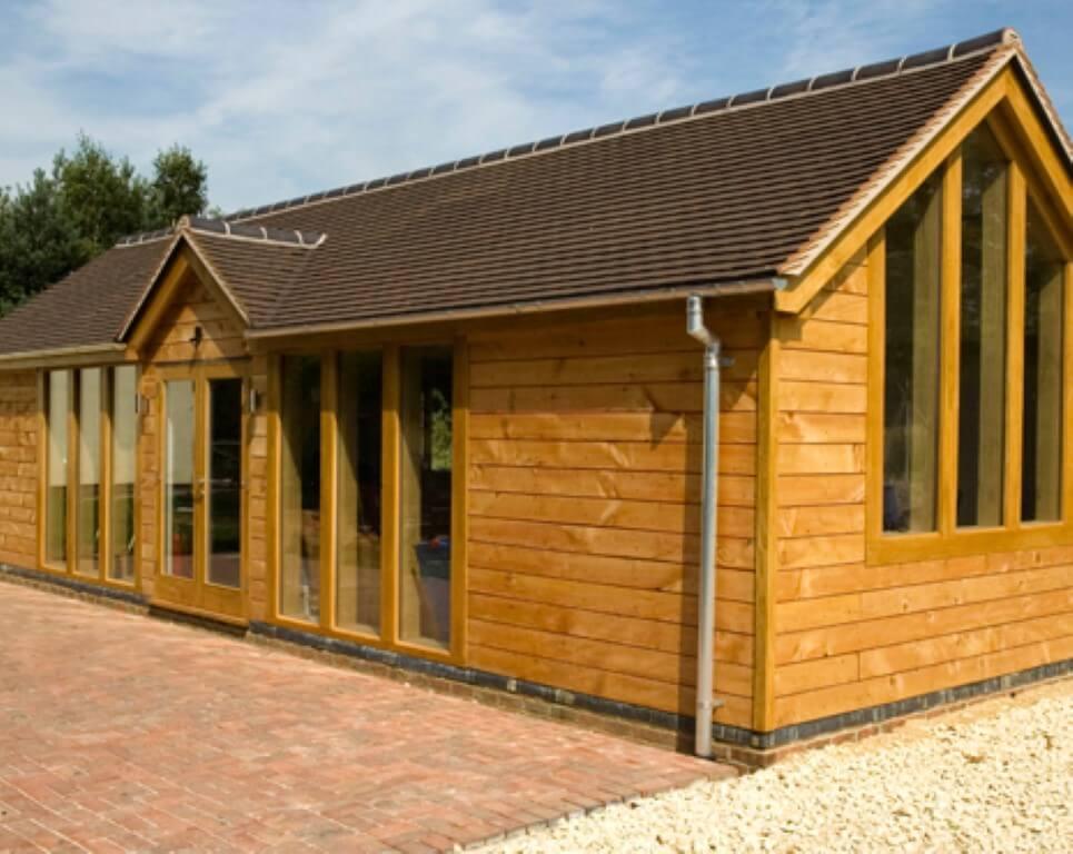 Gallery english oak frames for Oak garden office