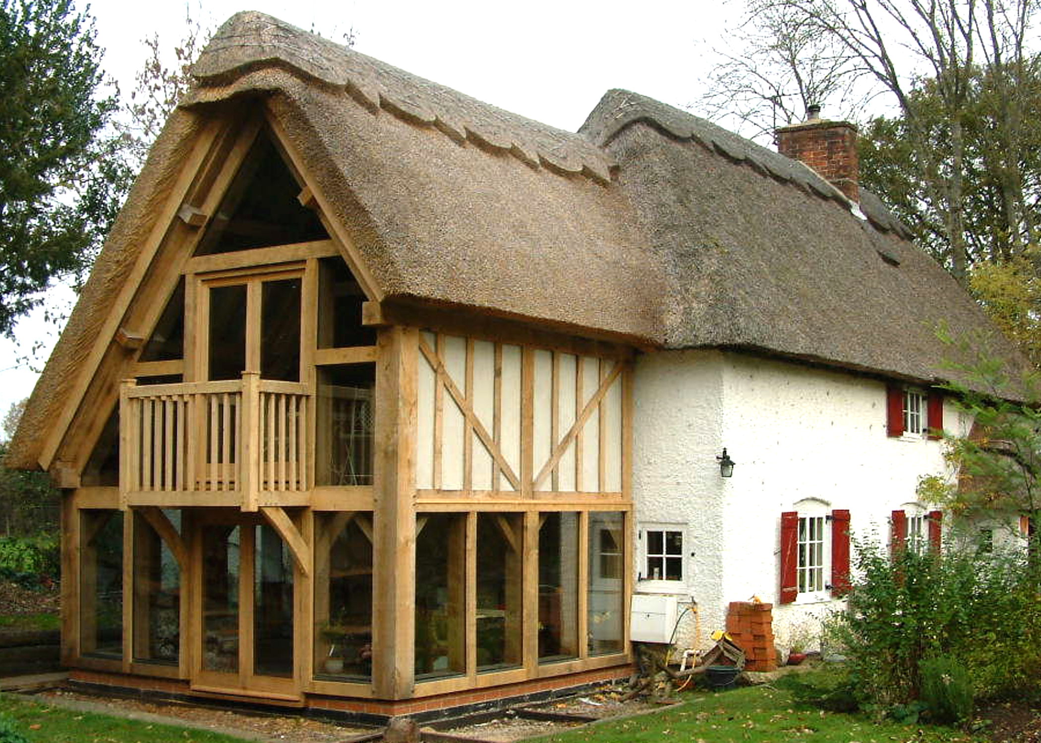 Oak frames oxfordshire englishoakframes for Oak framed garden room