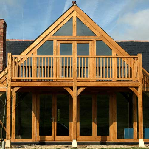 An Oak Frame Home Built For Under 200k: EnglishOakFrames