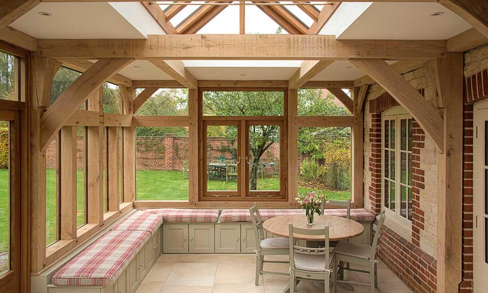 garden rooms orangeries english oak frames